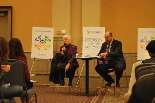 Candidate Lynne Abraham discusses her views on food policy in Philadelphia