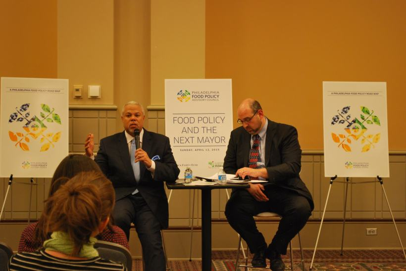 Candidate Anthony Williams discusses food systems issues in Philadelphia